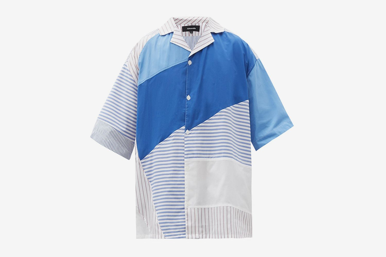 Patrick Striped Patchwork Shirt