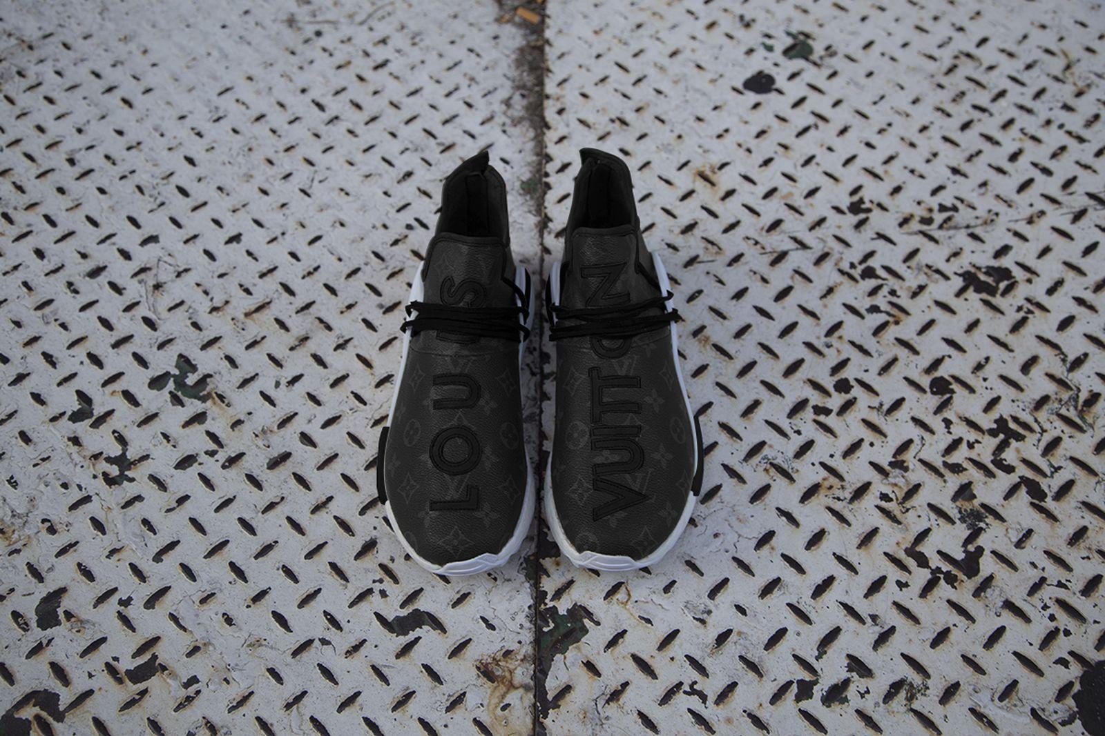louis vuitton human race nmd custom release date price Adidas Ceeze nmd human race