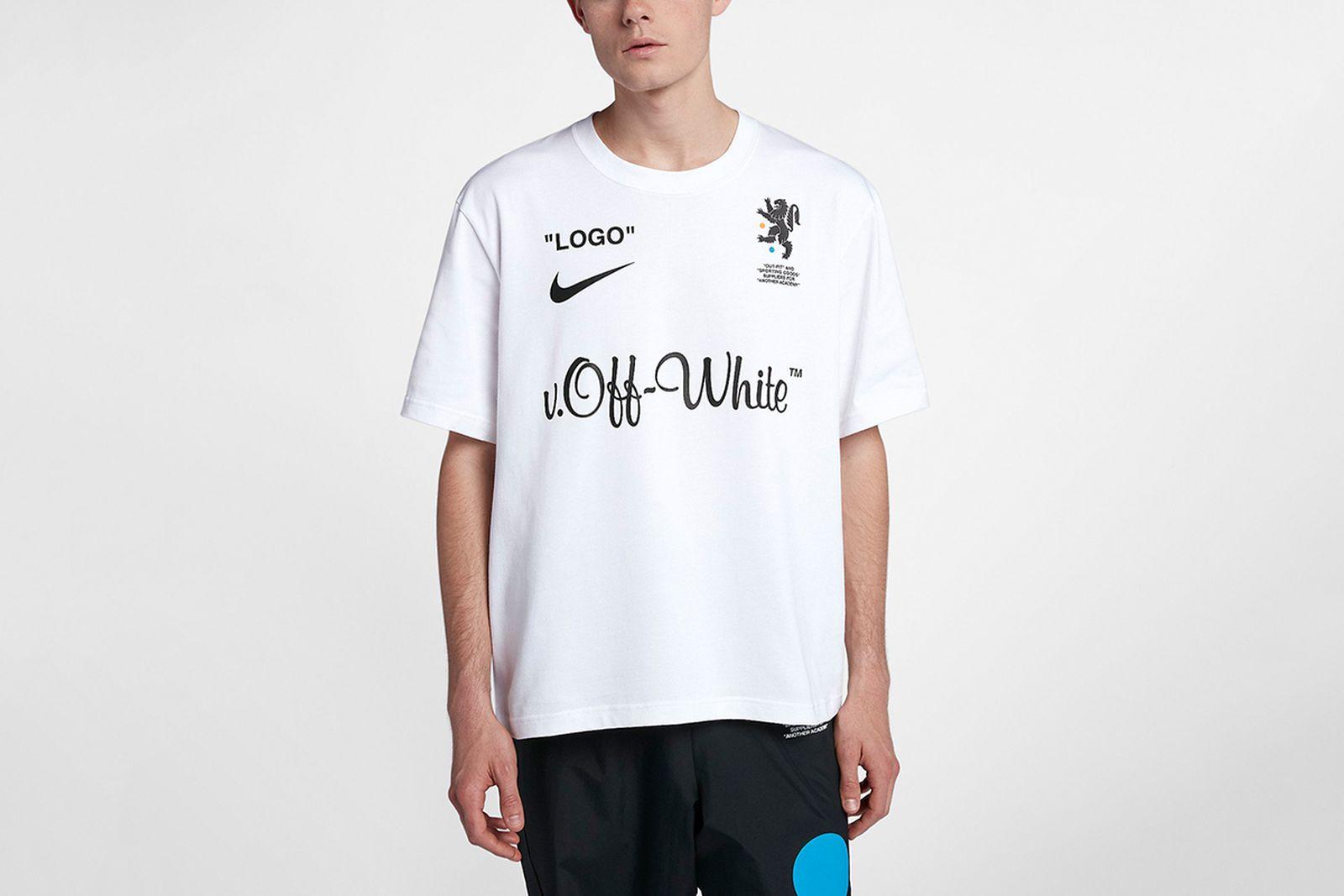 t shirt 2018 FIFA World Cup Nike OFF-WHITE c/o Virgil Abloh