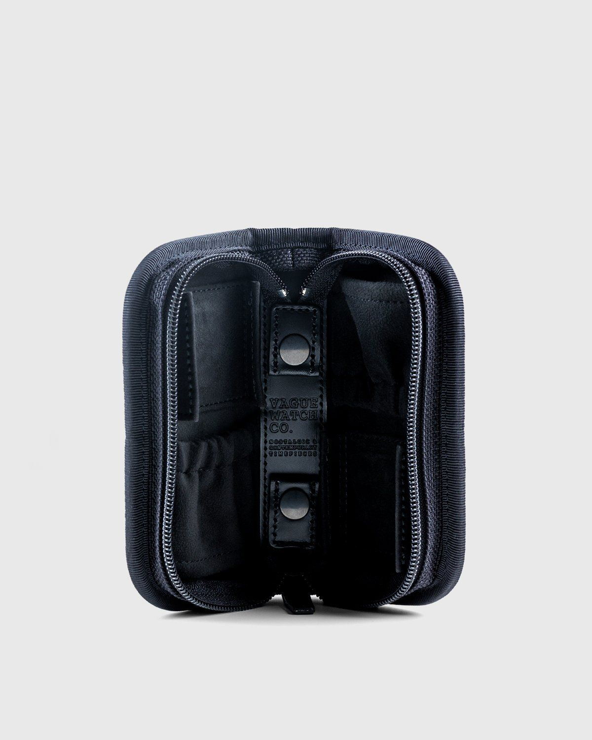Porter — Watch Case For 2 Watches Black - Image 2