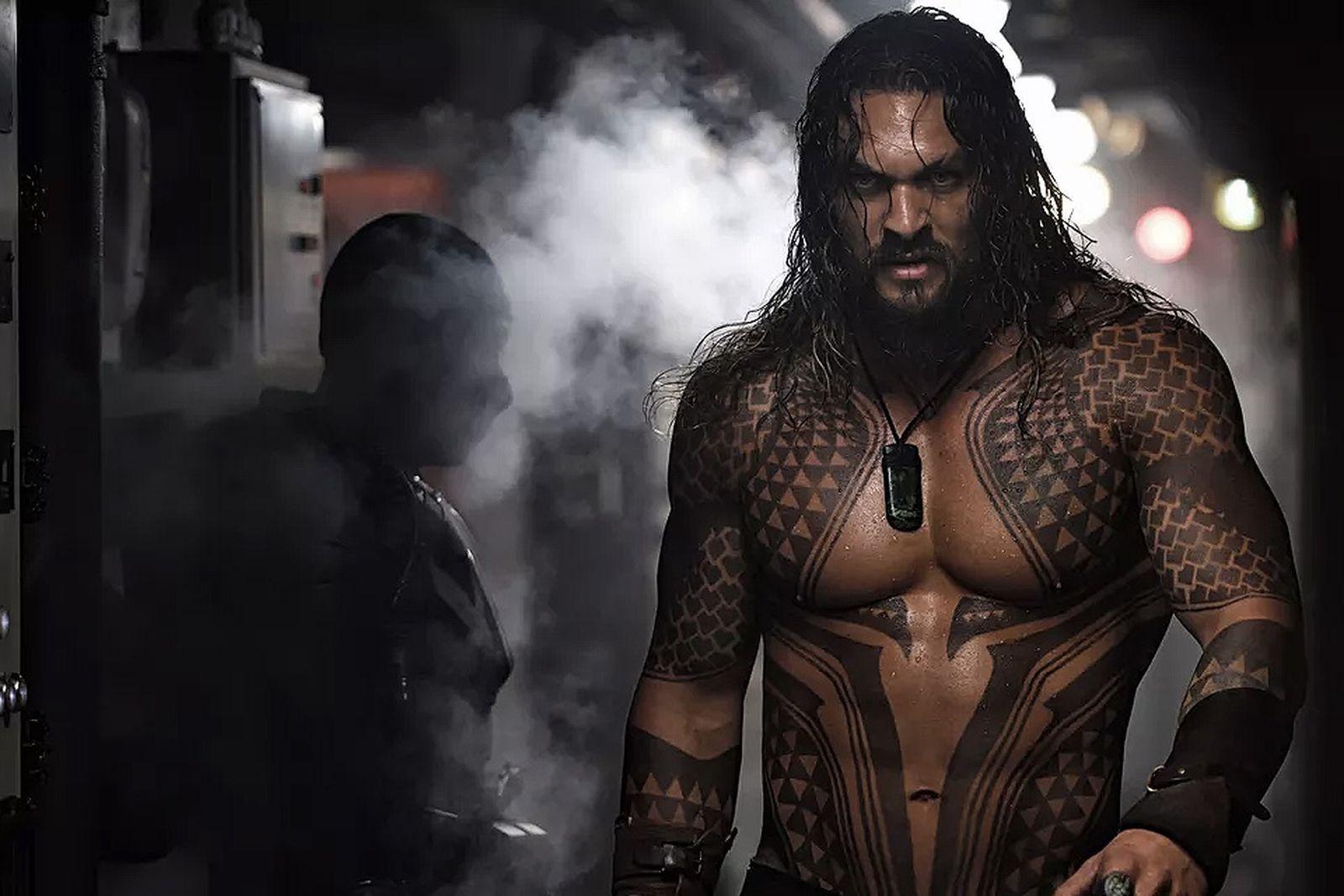 aquaman box office dark knight Jason Momoa