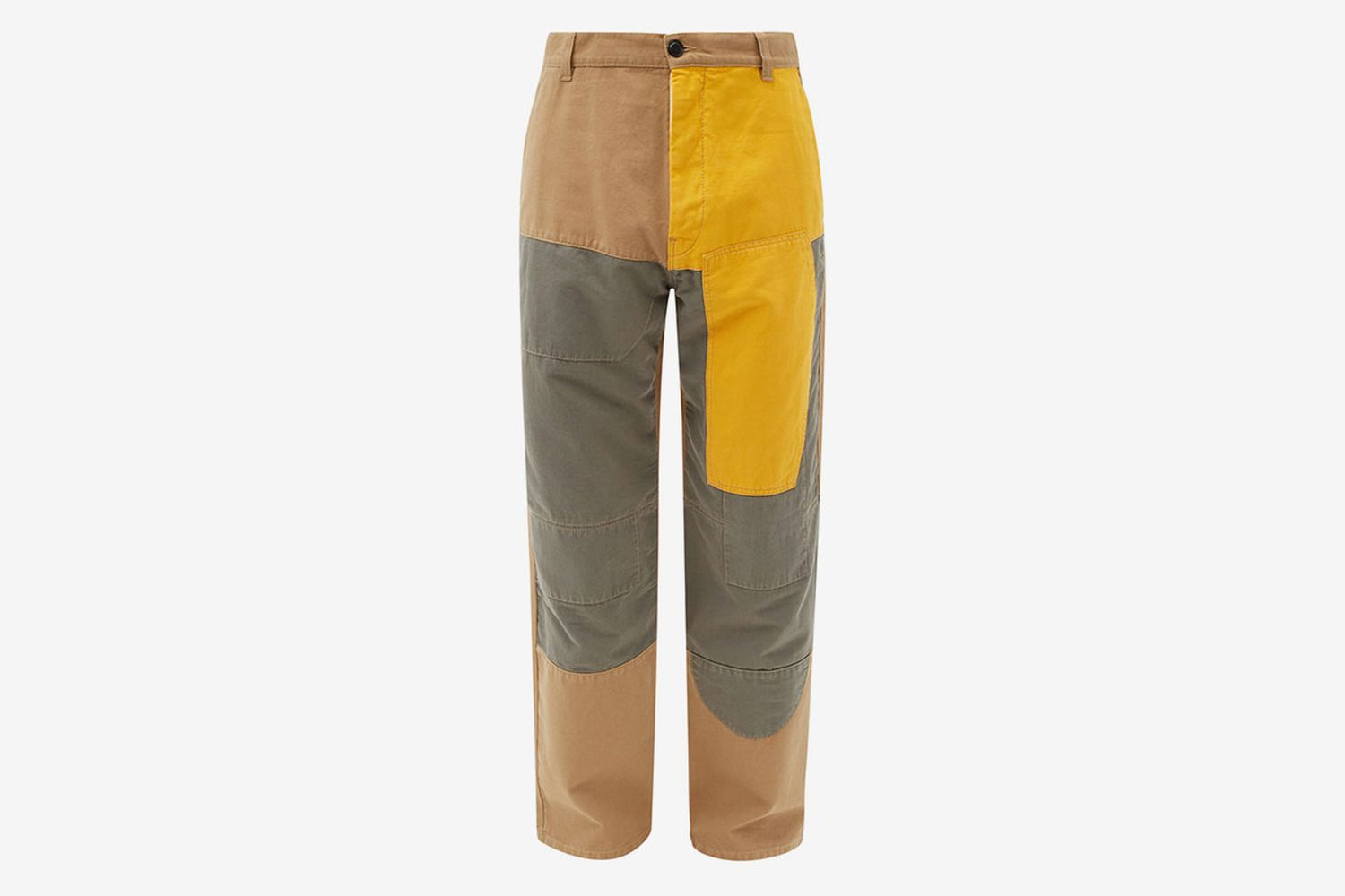 Patchwork Cotton Trousers