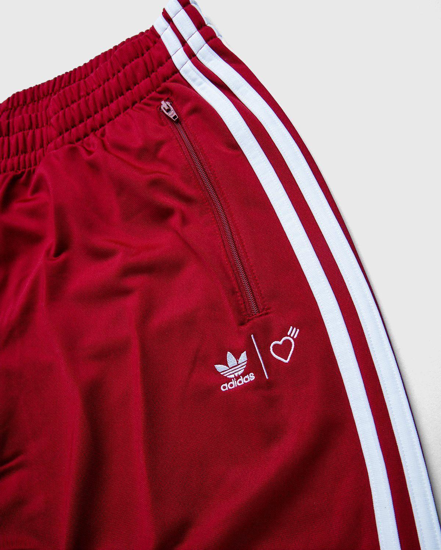 adidas Originals x Human Made — Firebird Track Pants Burgundy - Image 3