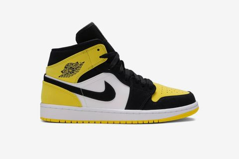 Air Jordan 1 Mid SE 'Yellow Toe'