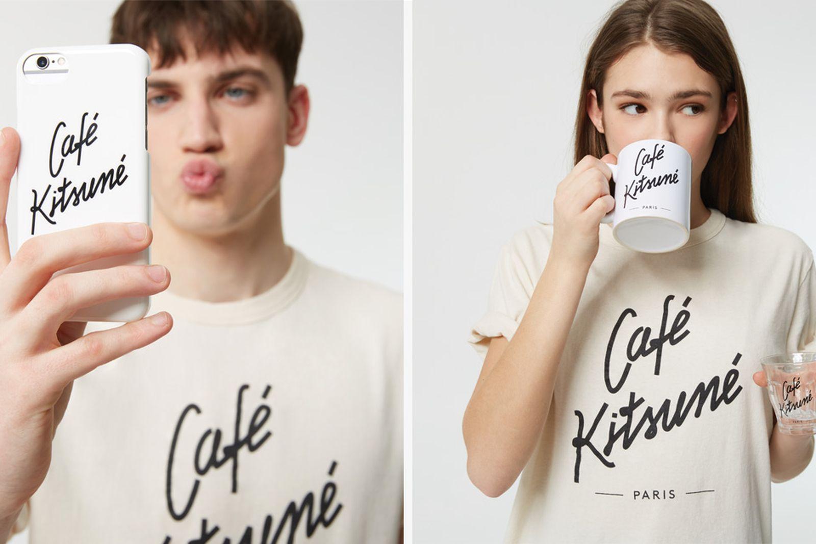 cafe kitsune coffee collection Cafe Kitsuné maison kitsune