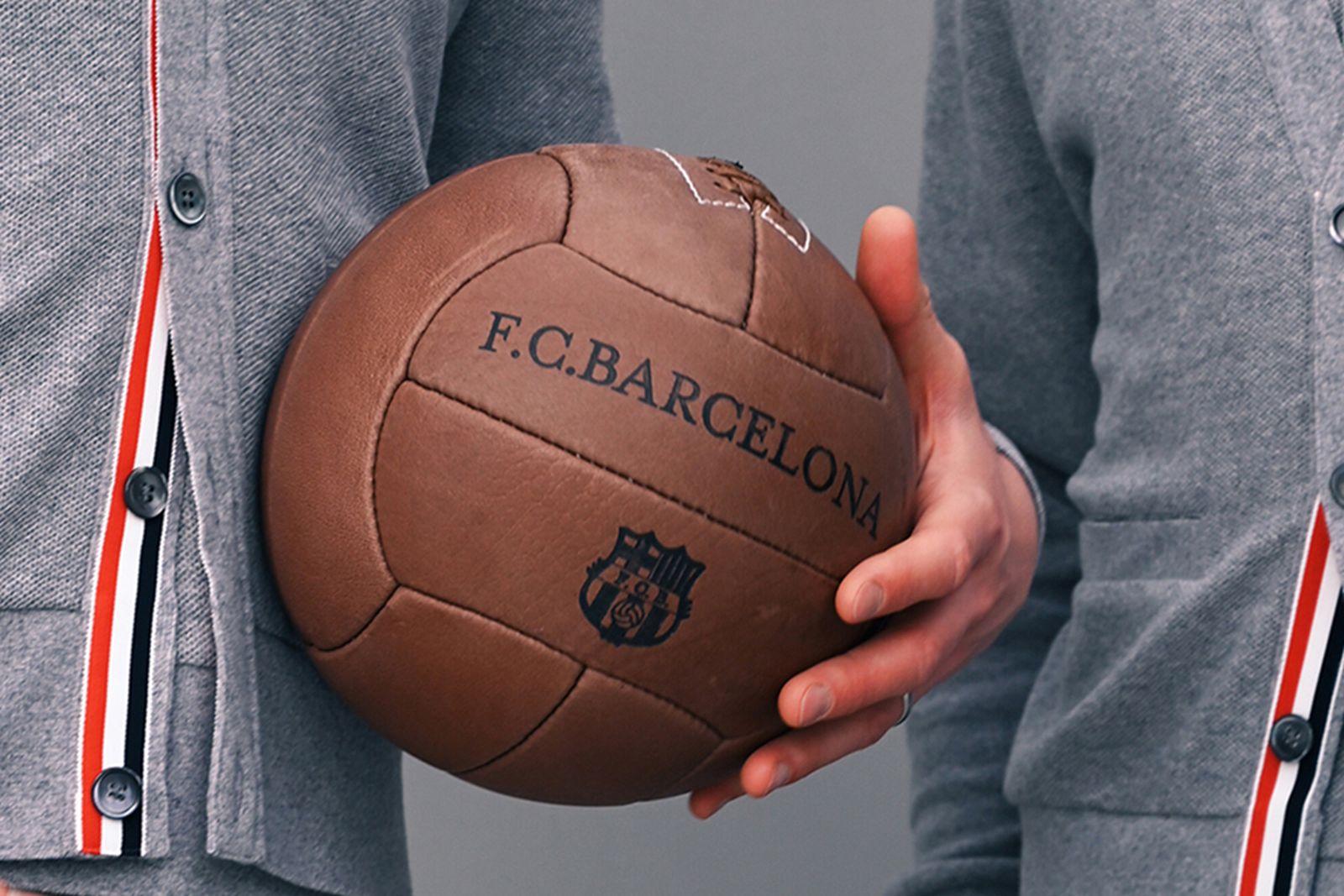 FC Barcelona thom browne summer 2021 campaign (2)