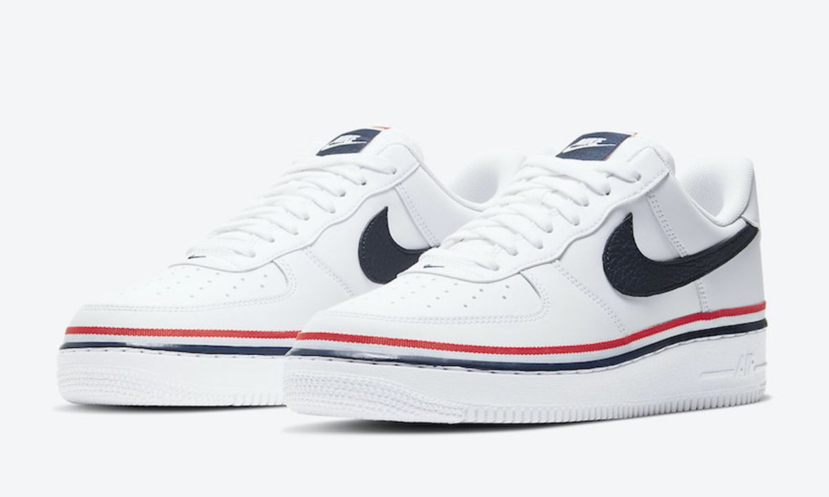 Nike Air Force 1 Independence Day 2020 Official Images Info