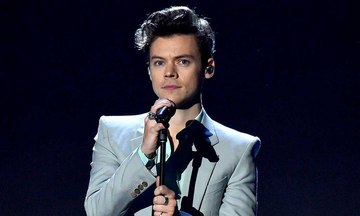 Harry Styles performs on the runway during the 2017 Victoria's Secret Fashion Show