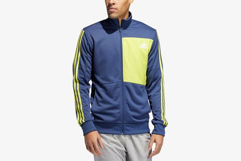 Men's Hybrid Colorblocked Track Jacket