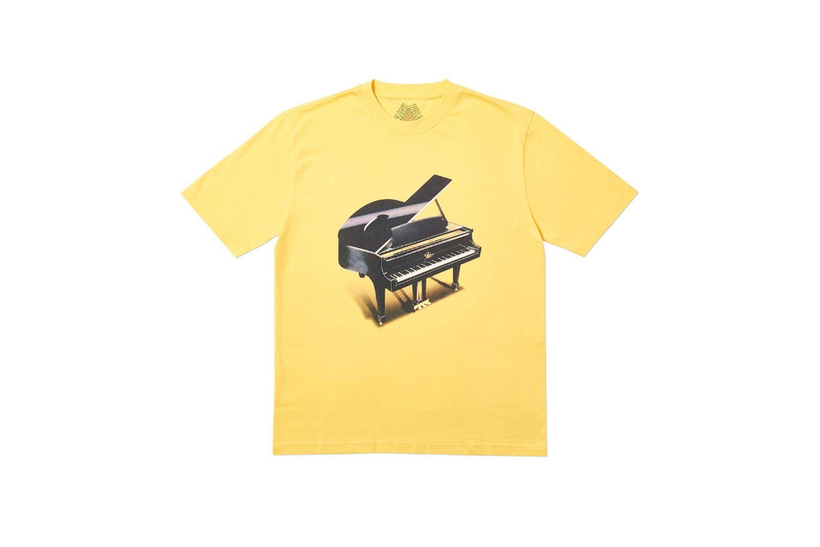 Palace 2019 Autumn T Shirt Grand yellow