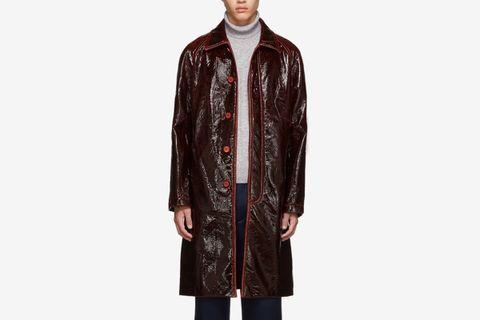 Sies Marjan leather coat