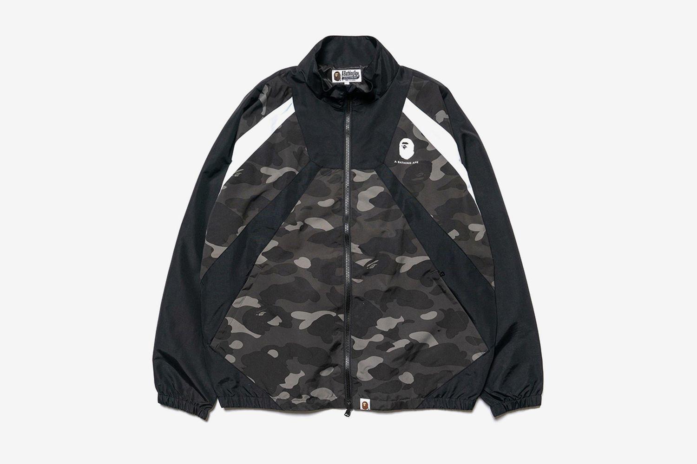 Color Camo Color Block Jacket
