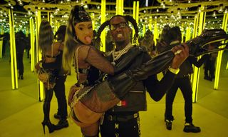 """Offset & Cardi B Flex Their Power Couple Status in New """"Clout"""" Video"""