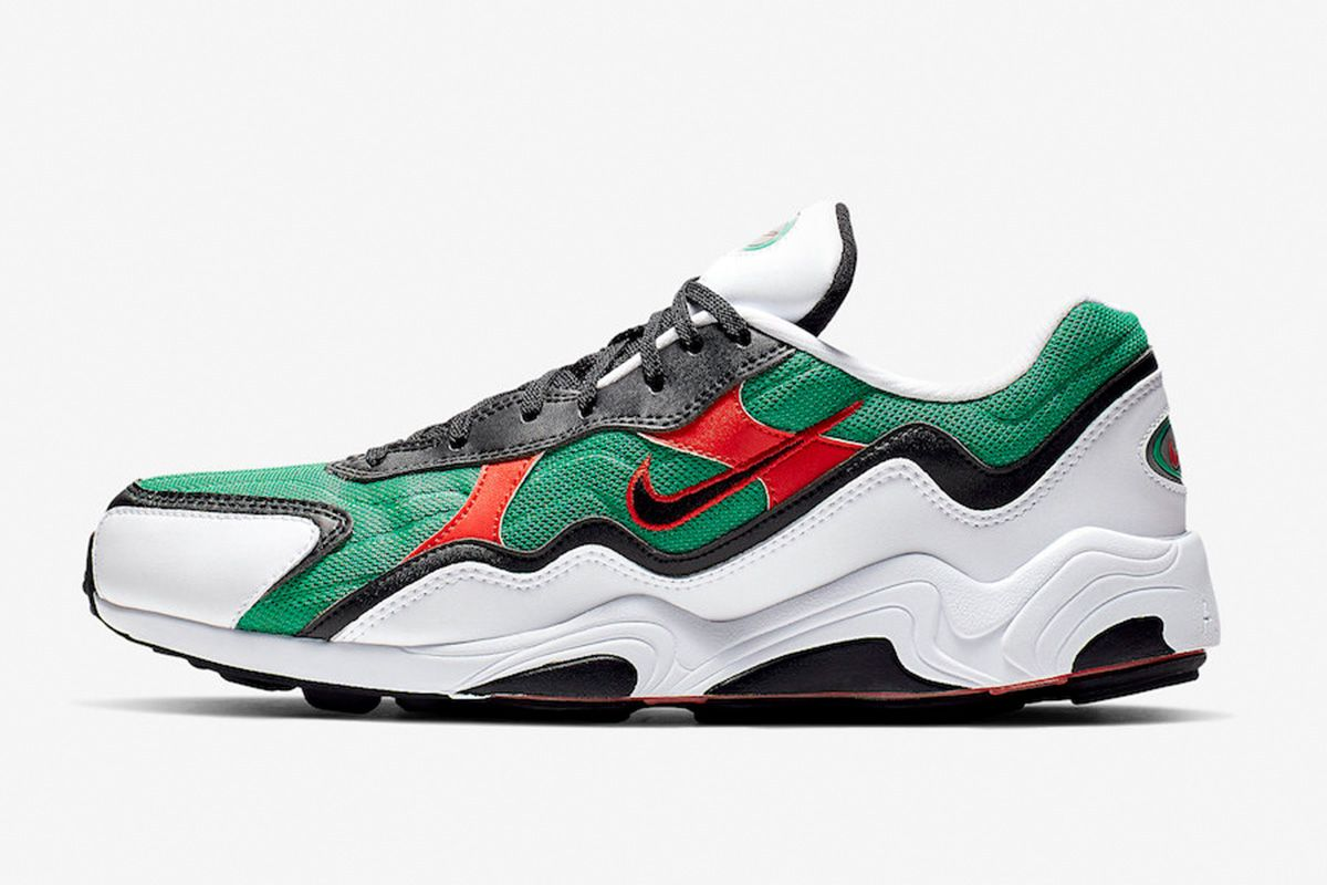 """separation shoes b18bb 1592b The Nike Air Zoom Alpha """"Lucid Green"""" Gives Off Gucci Vibes"""