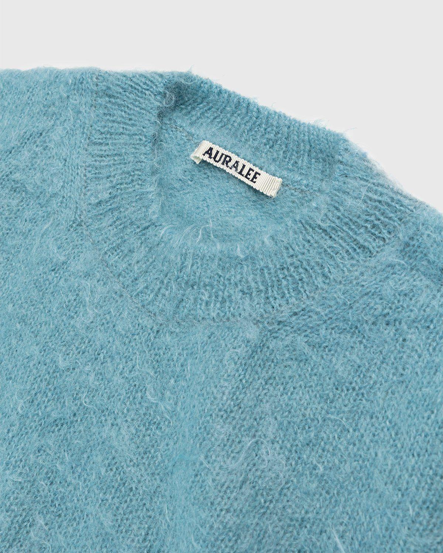Auralee – Mohair Knit Blue - Image 3