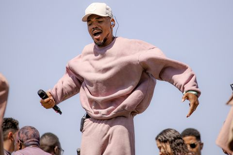 kanye west chance the rapper chiacgo tour appearance The Big Day 'Jesus Is King'