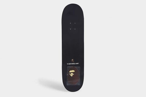 Space Camouflage Print Skateboard