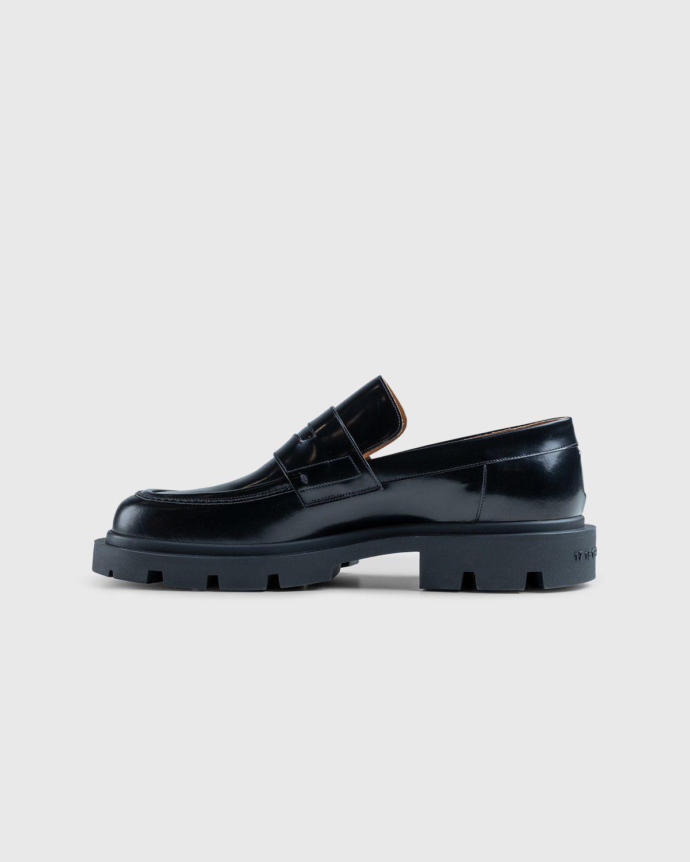 Maison Margiela – Leather Loafers Black - Image 7