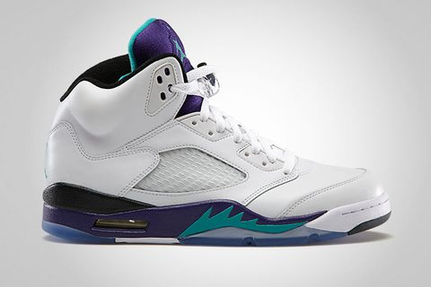 6cebef8b7eb Air Jordan 5 Retro White/New Emerald - Grape Ice - Black | Highsnobiety