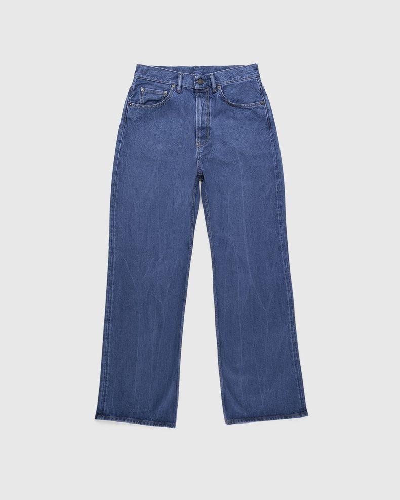 Acne Studios – Brutus 2021M Boot Cut Jeans Blue