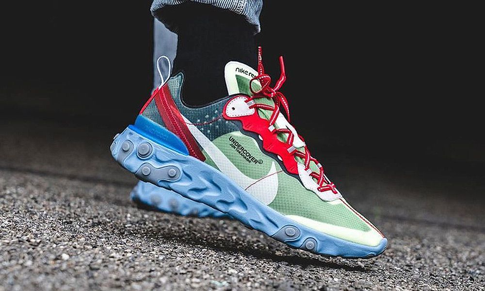 c1308bf07d77b UNDERCOVER x Nike React Element 87 Style Roundup