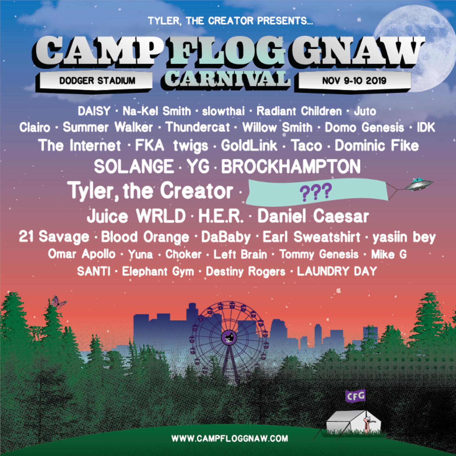 unnamed Camp Flog Gnaw FKA twigs solange