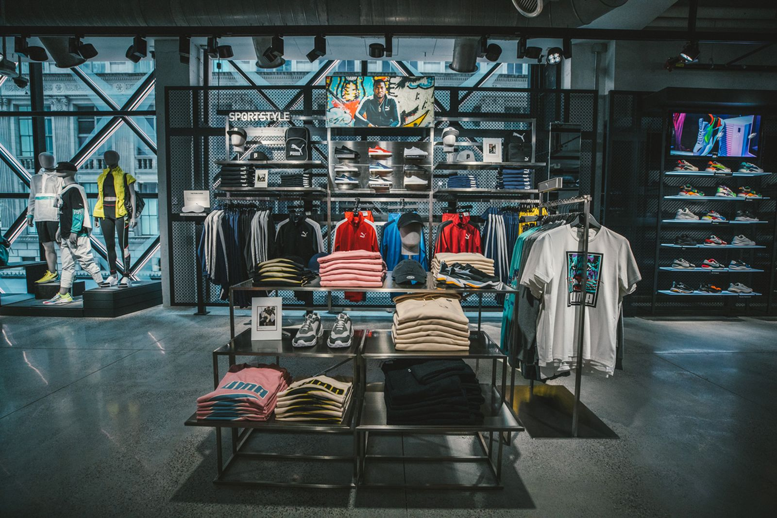 An Inside Look at PUMA's NYC Flagship Store: See More Here