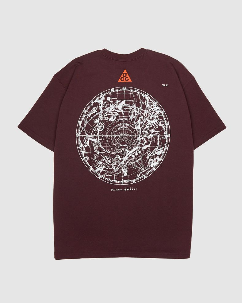 "Nike ACG ""Stargaze"" - Burgundy - Men's T-Shirt"