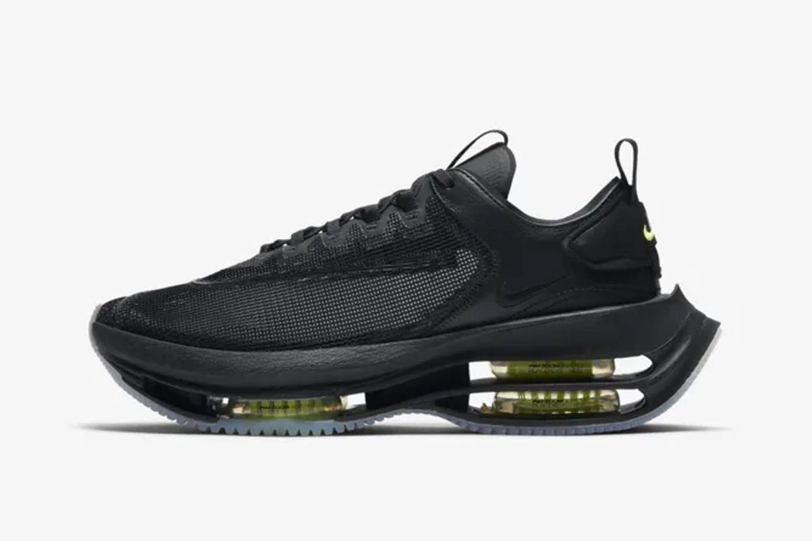 Nike Zoom Double Stacked Volt Black Product Shot