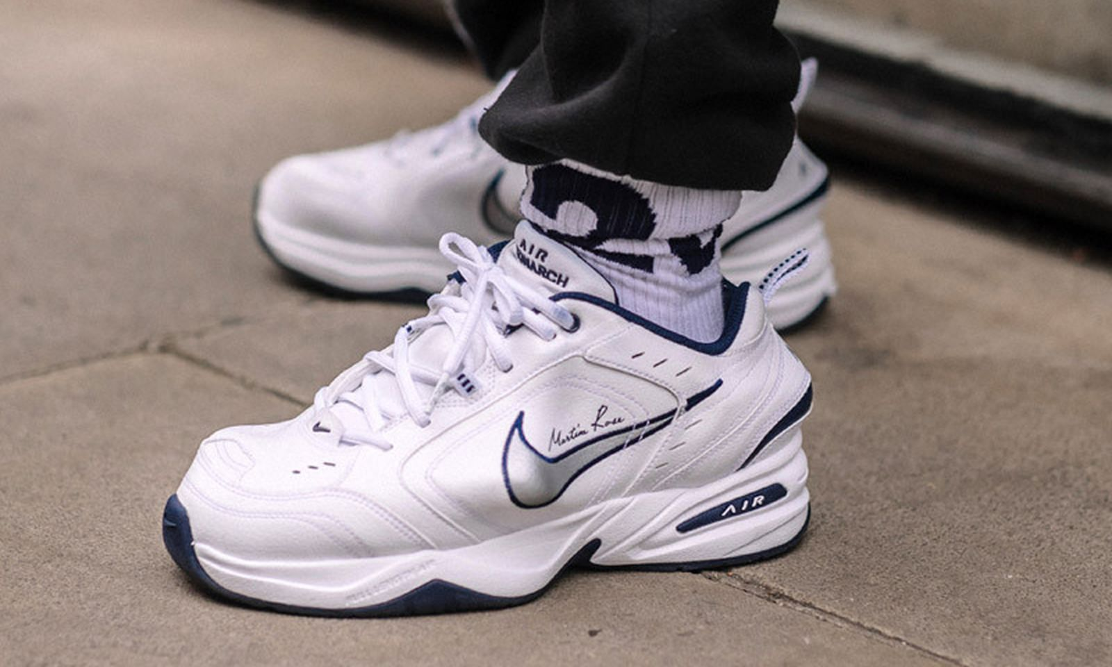 sneaker street style london fw19 comments Air Jordan 19 Lil Pump Martine Rose
