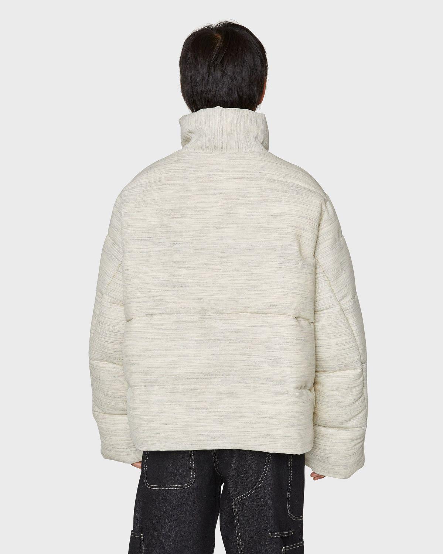 JACQUEMUS — La Doudoune Jacket Beige - Image 4