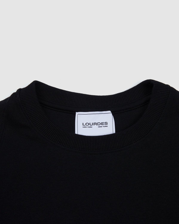Lourdes NYC — Biathlon Tee Black - Image 3