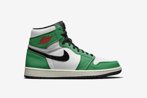 Wmns Air Jordan 1 Retro High Lucky Green