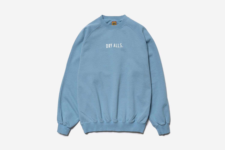 Raglan Sweatshirt Blue