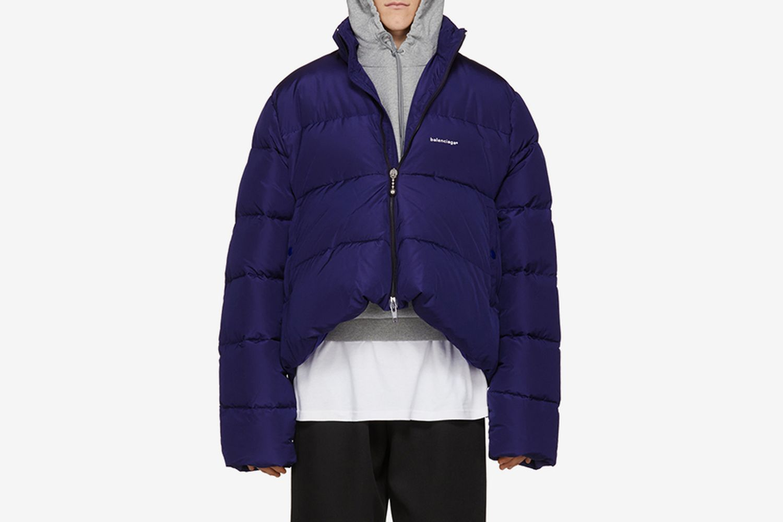 Down C-Shape Jacket