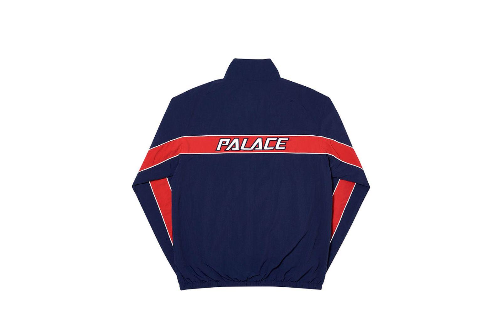 Palace 2019 Autumn Shell Racer Black Back