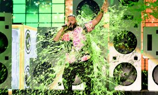 Watch DJ Khaled Get Slimed Promoting New Album 'Father of Asahd'