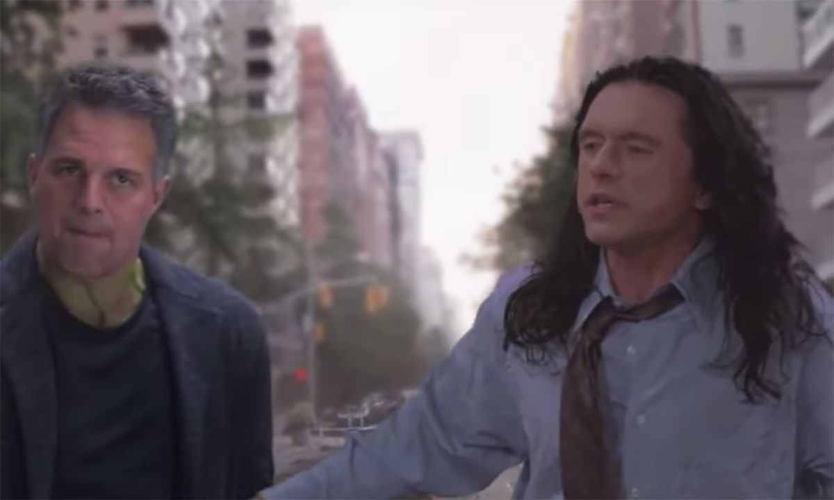 Tommy Wiseau's Hilarious 'Avengers' x 'The Room' Mash-Up Is Next-Level Insanity