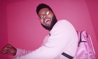 """Khalid's Colorful """"Talk"""" Video Is Pure Feel-Good Vibes"""
