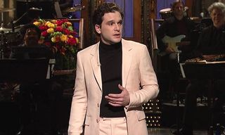 Watch the 'Game of Thrones' Cast Crash Kit Harington's 'SNL' Monologue