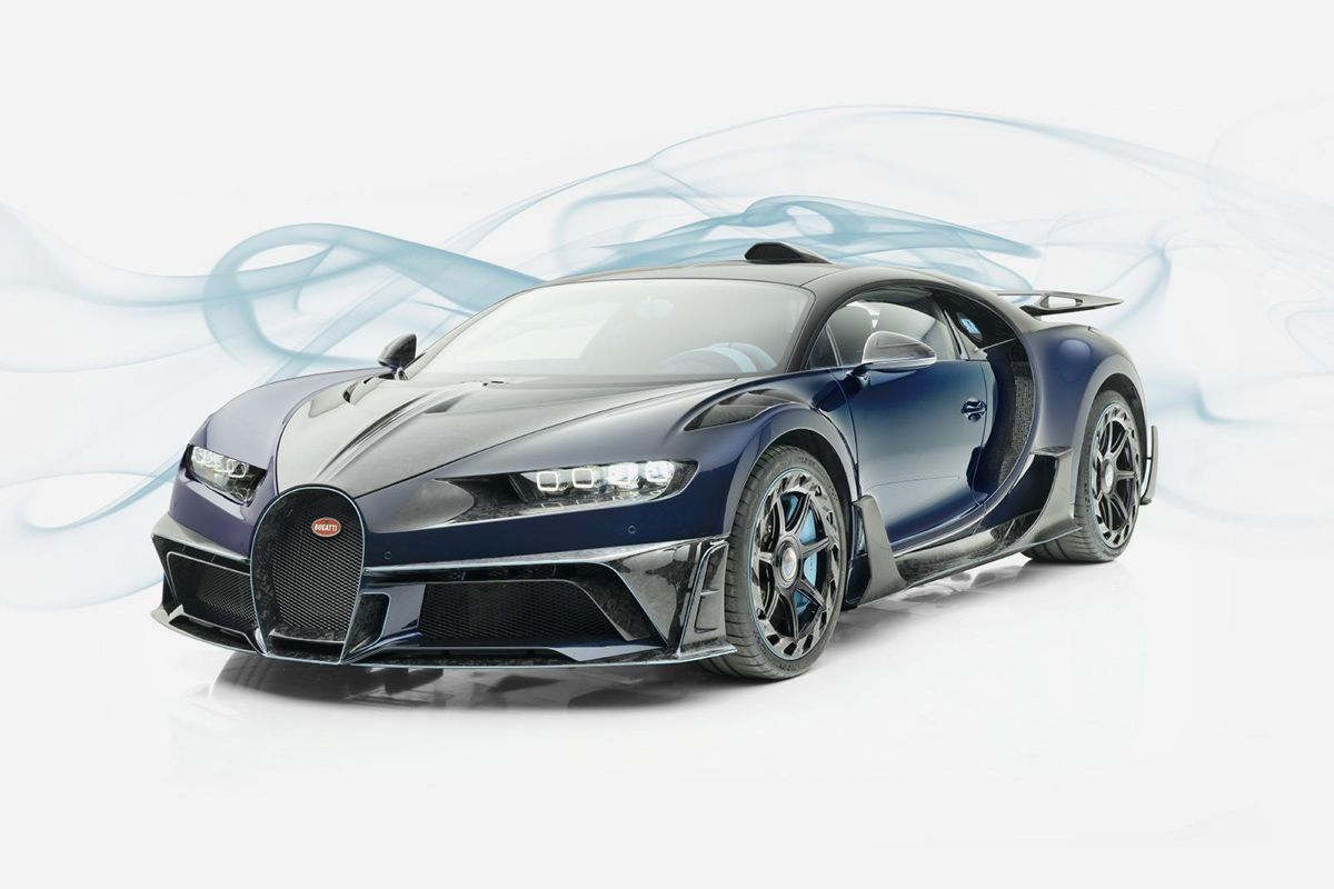 Mansory Brings Carbon Fiber & Custom Interior to the Bugatti Chiron