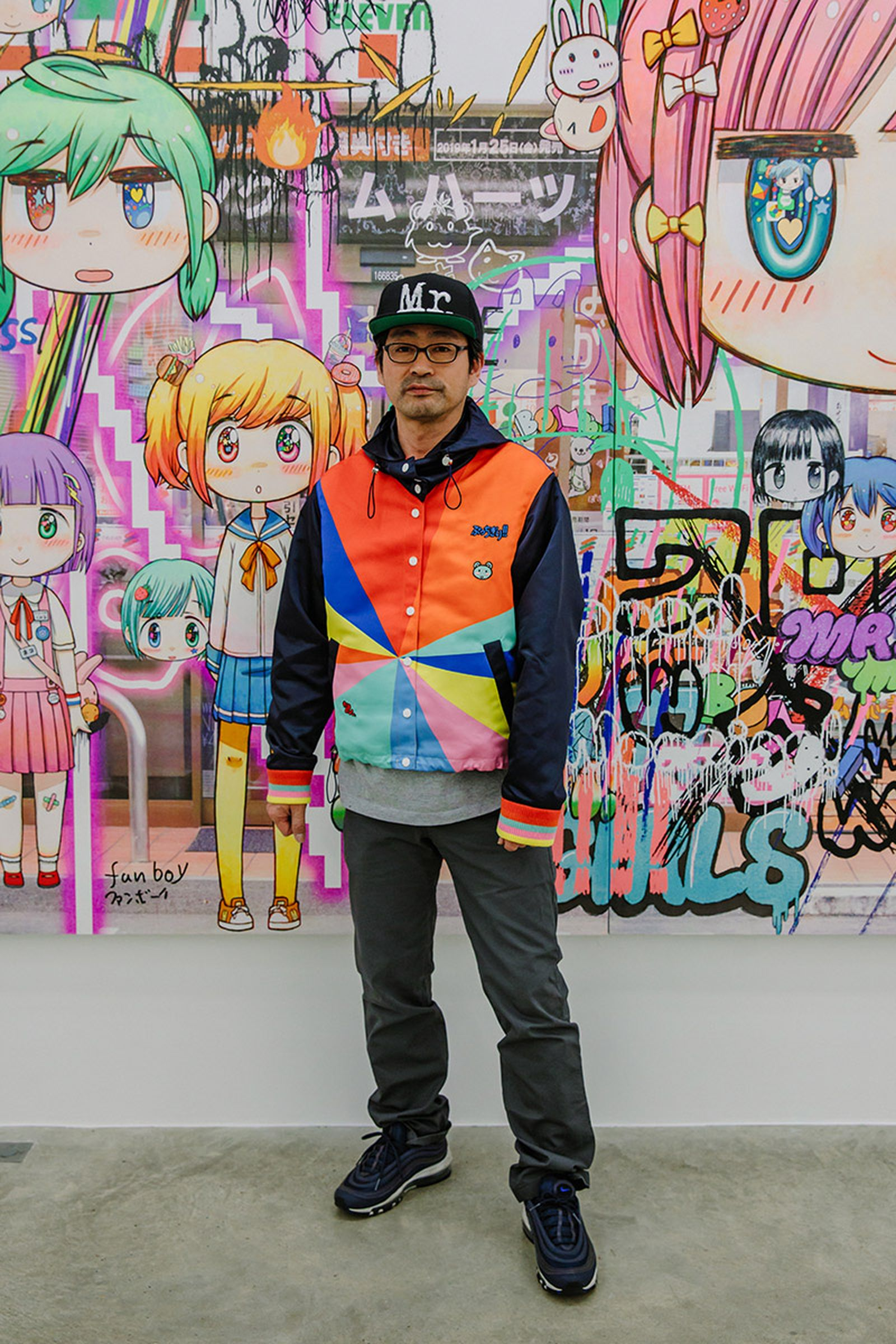 Mr Melancholy Walk Around Town Exhibition 01 mira mikati mr.