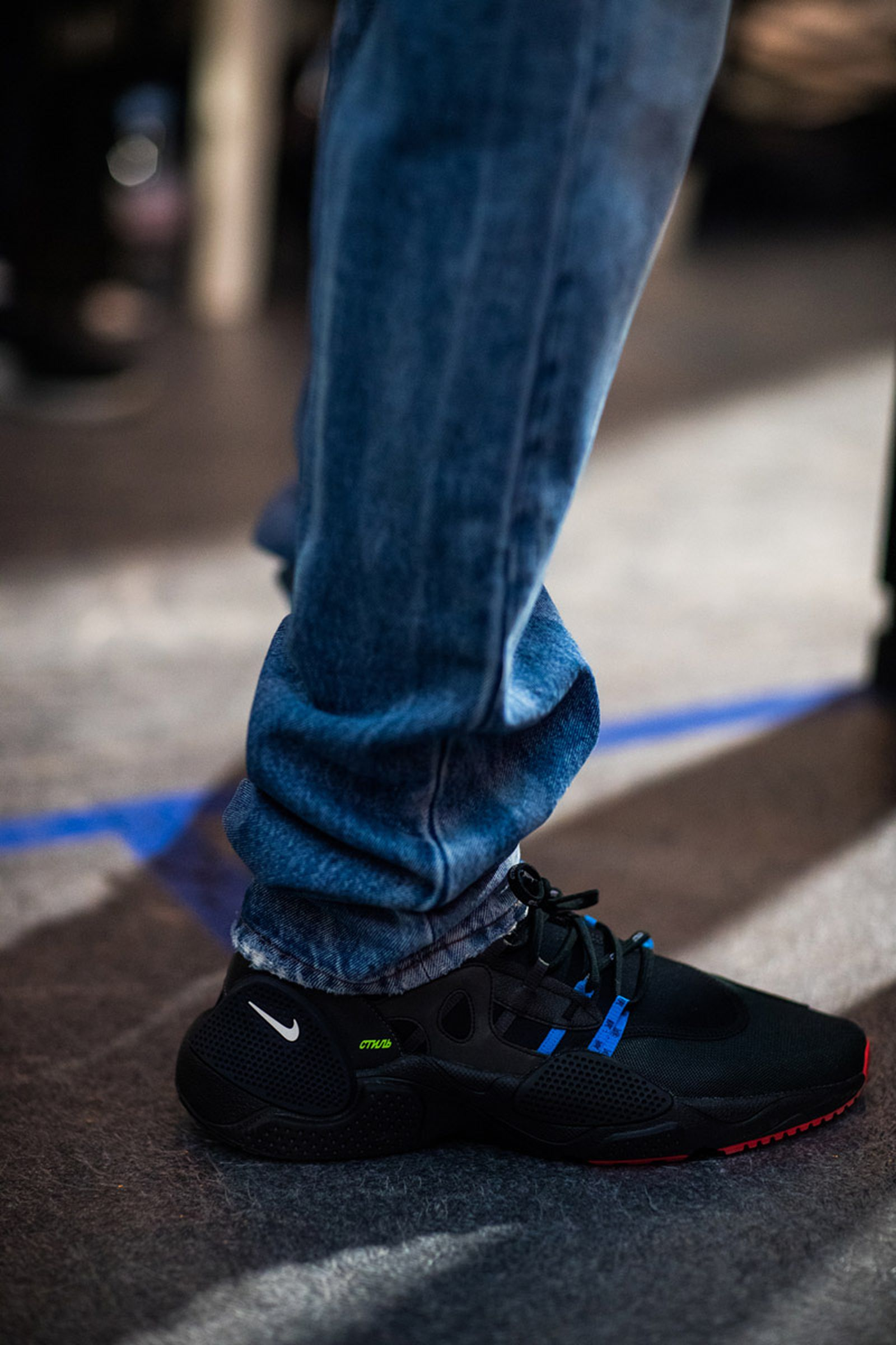 MFW19 Paris HeronPreston EvaAlDesnudo 10 Adidas Heron Preston Nike