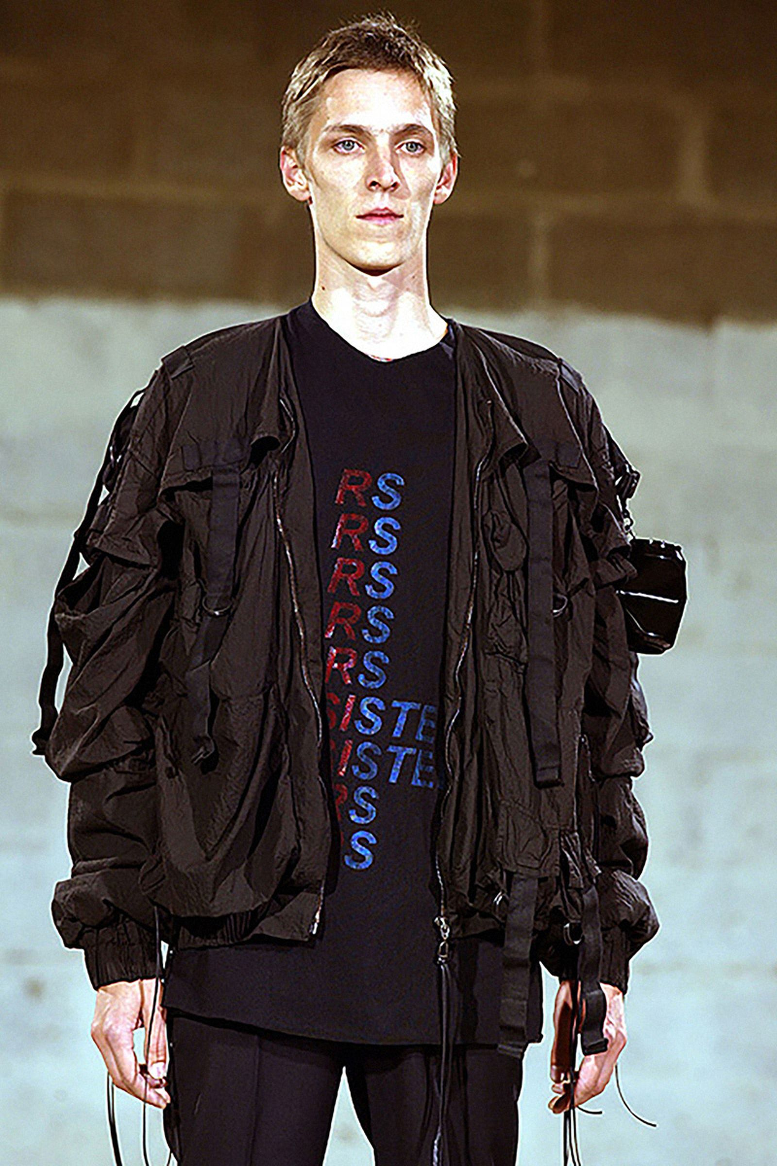 "Raf Simons SS03  ""Consumed"" Parachute Bomber"