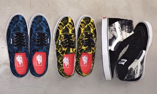 """Supreme x Vans """"Bruce Lee"""" Sk8-Hi and Authentic Preview"""