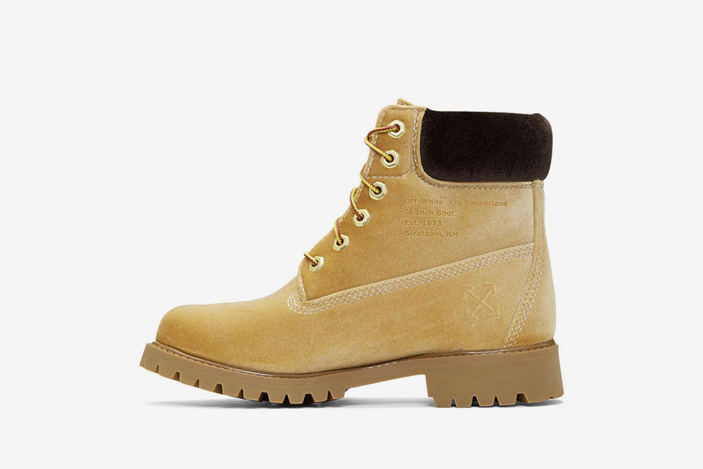 6'' Velvet Boot