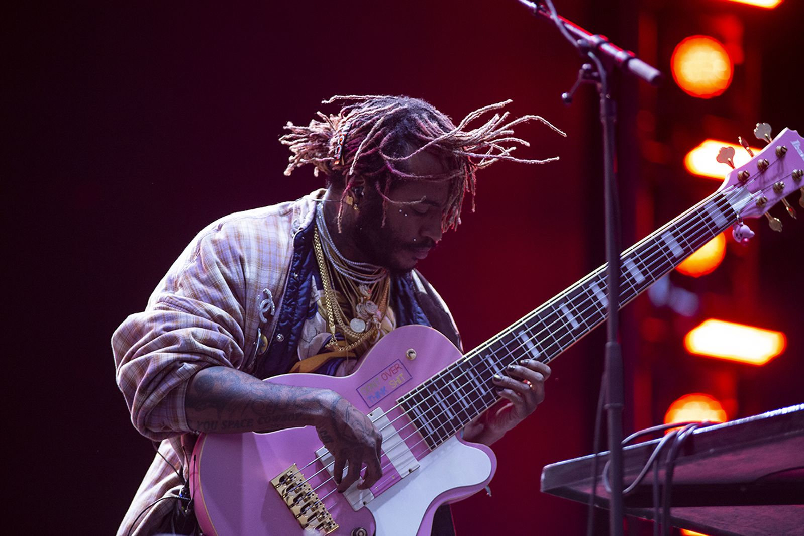 thundercat performs live