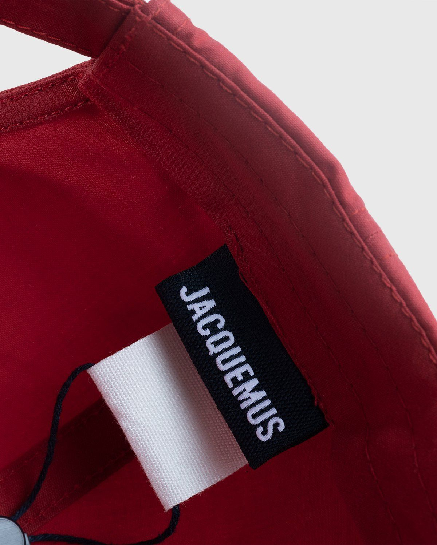Jacquemus – La Casquette Jacquemus Red - Image 4
