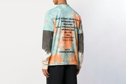 Tie-Dye Layered T-shirt