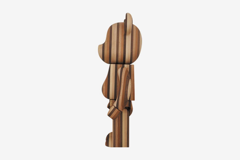 Bearbrick Layered Wood 1000%